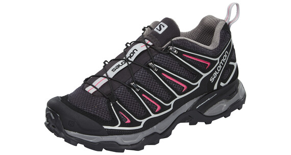 Salomon X Ultra 2 Hiking Shoes Women asphalt/black/hot pink